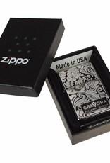 Zippo Aansteker Floral Design 01
