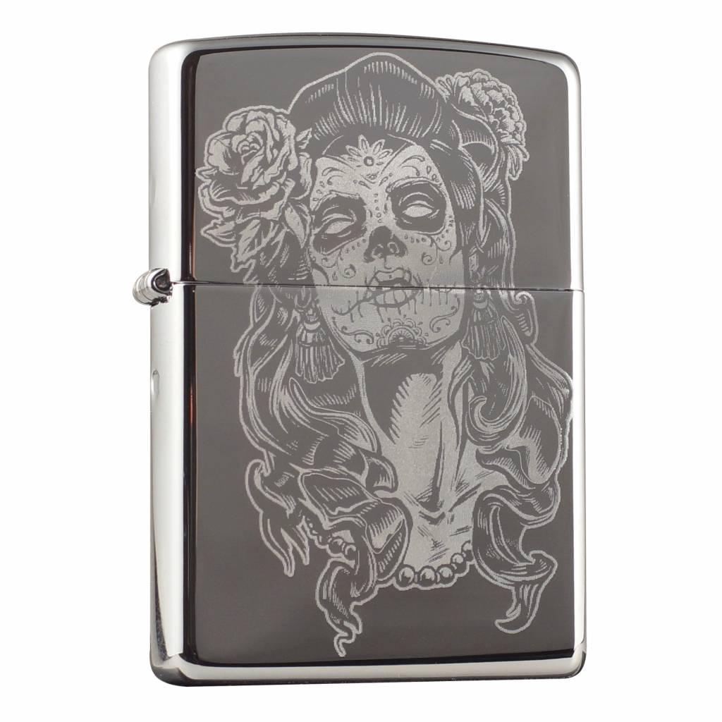 Zippo Aansteker Skull Design 12