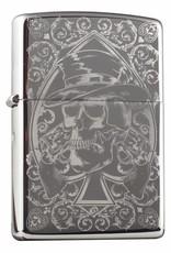 Zippo Aansteker Skull Design 04
