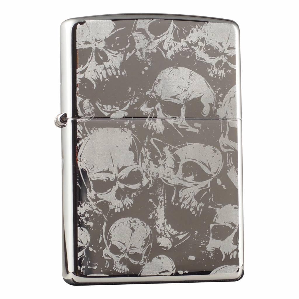 Zippo Aansteker Skull Design 03