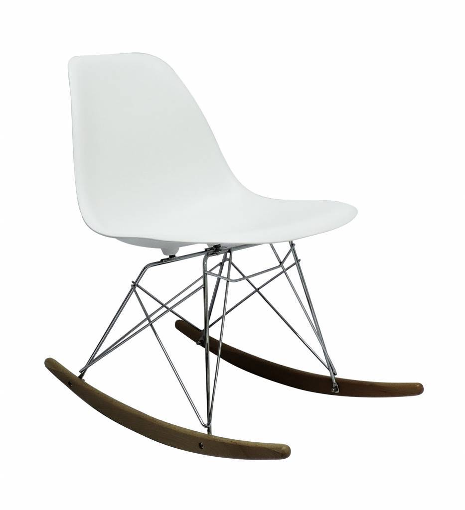 RSR Eames Design Rocking Chair White