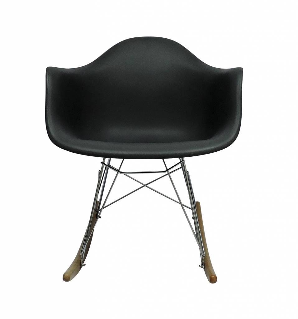 RAR Eames Design Rocking Chair Black