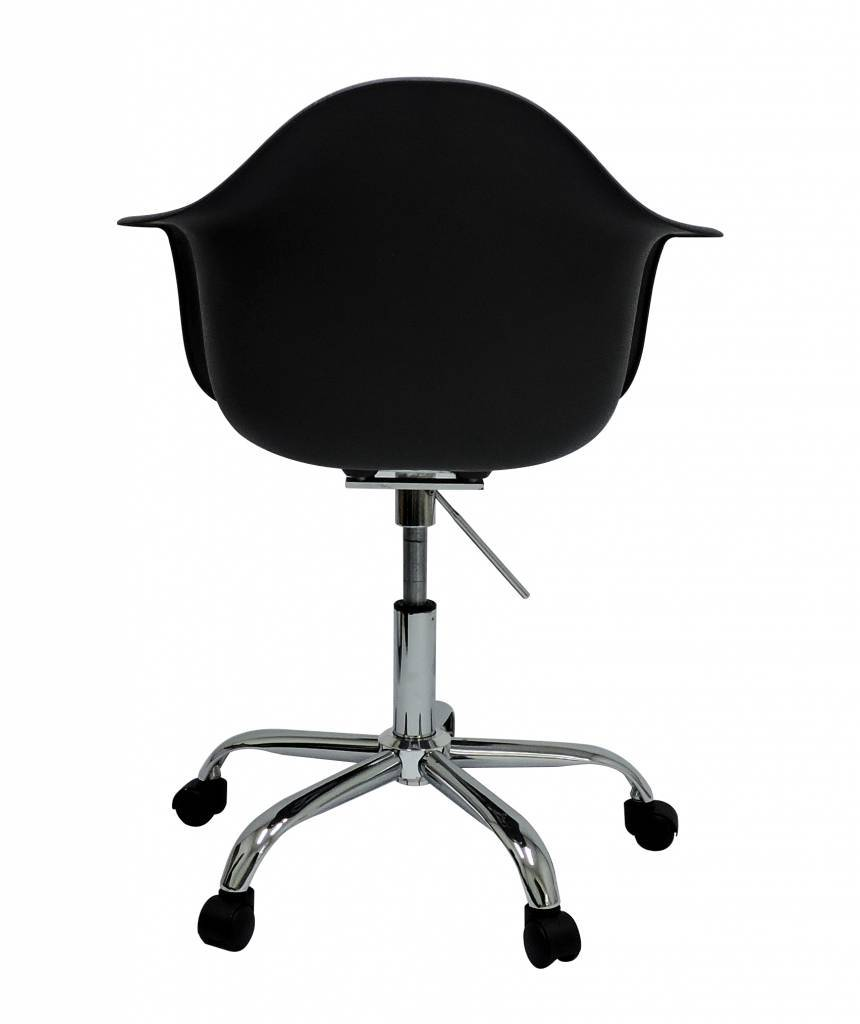 PACC Eames Design Stoel Zwart
