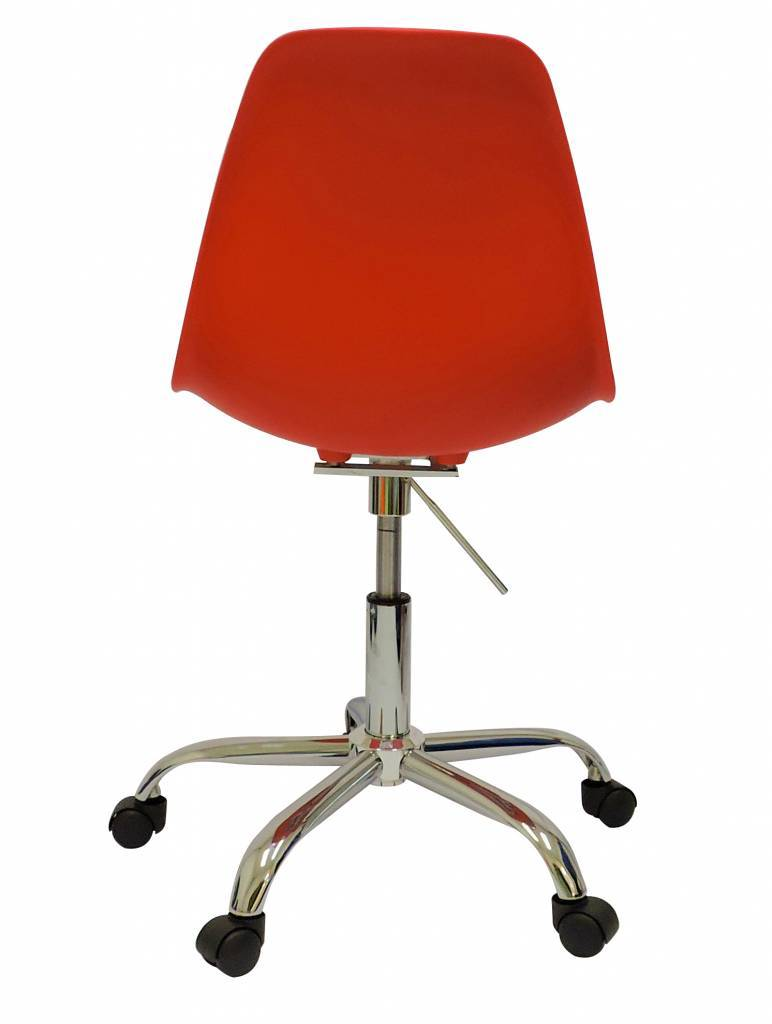 PSCC Eames Design Chair Red