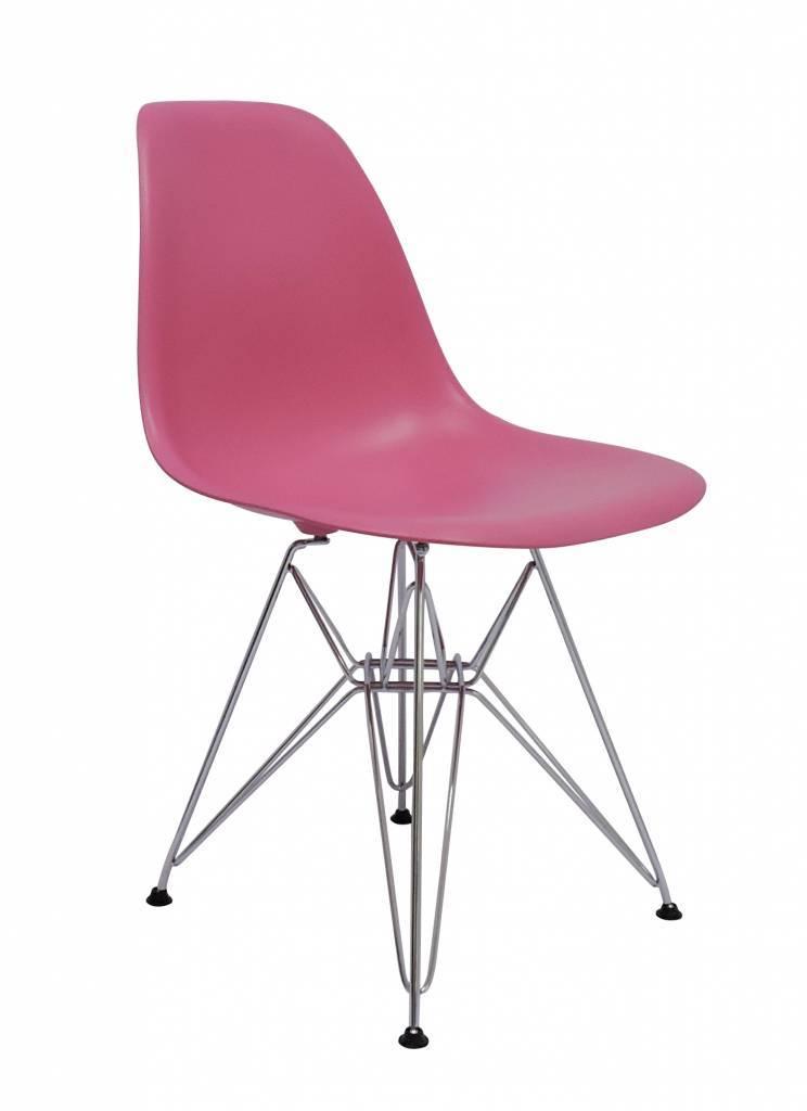 DSR Eames Design stoel Pink 4 colors