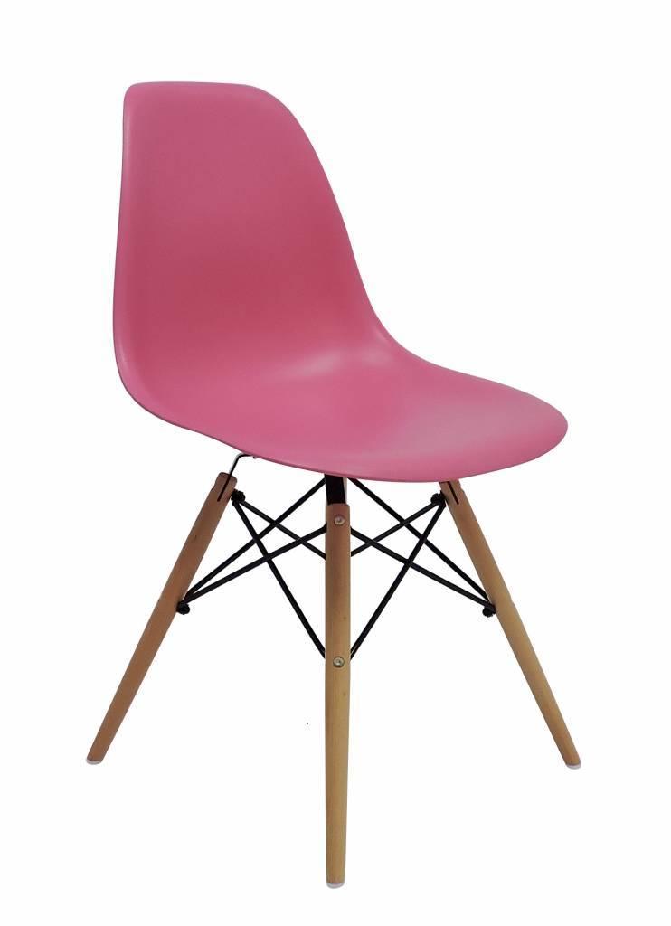DSW Eames Design stoel Roze 4 kleuren