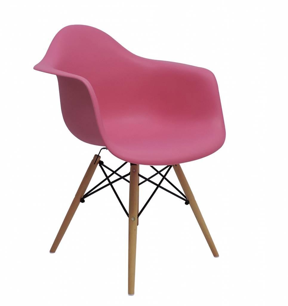 DAW Eames Design Chair Pink