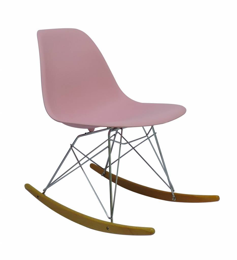 RSR Eames Design Rocking Chair Pink