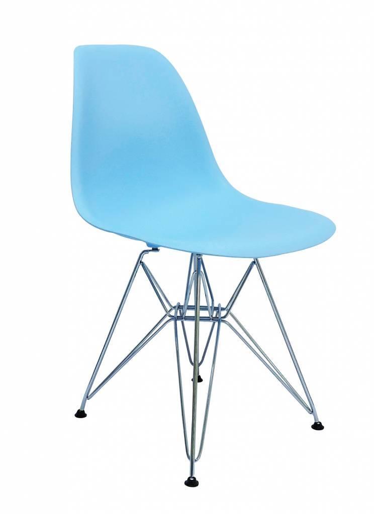 DSR Eames Design stoel Blauw 7 kleuren