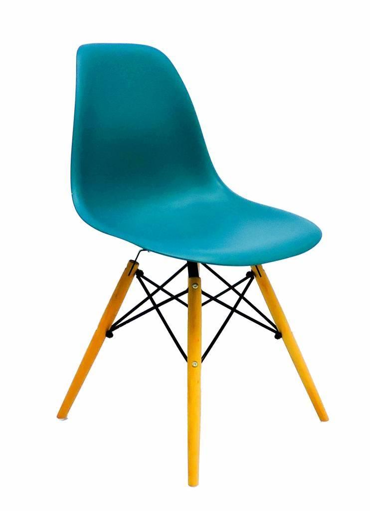 DSW Eames Design stoel Blauw 7 kleuren