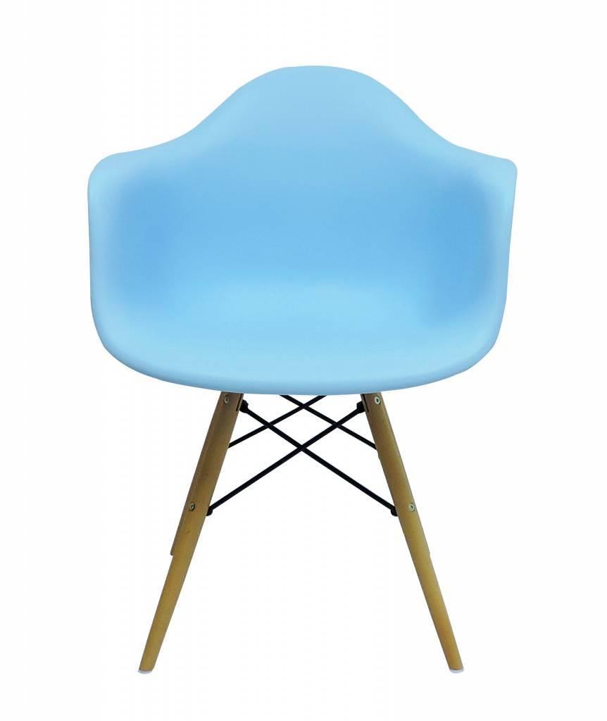 DAW Eames Design Stoel Blauw 7 kleuren