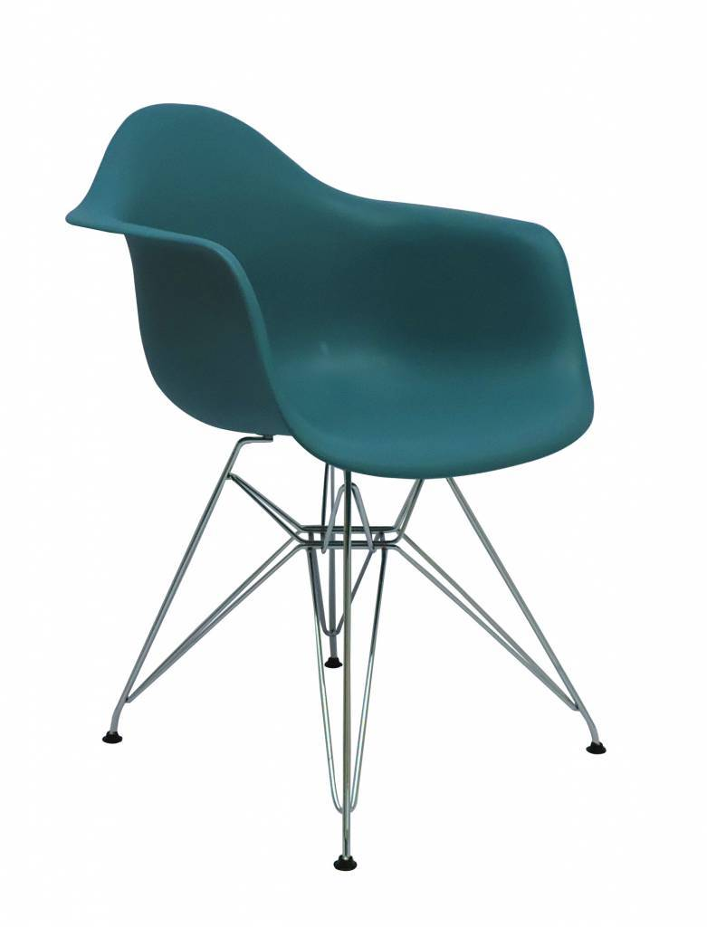 DAR Eames Design Stoel Blauw 7 kleuren