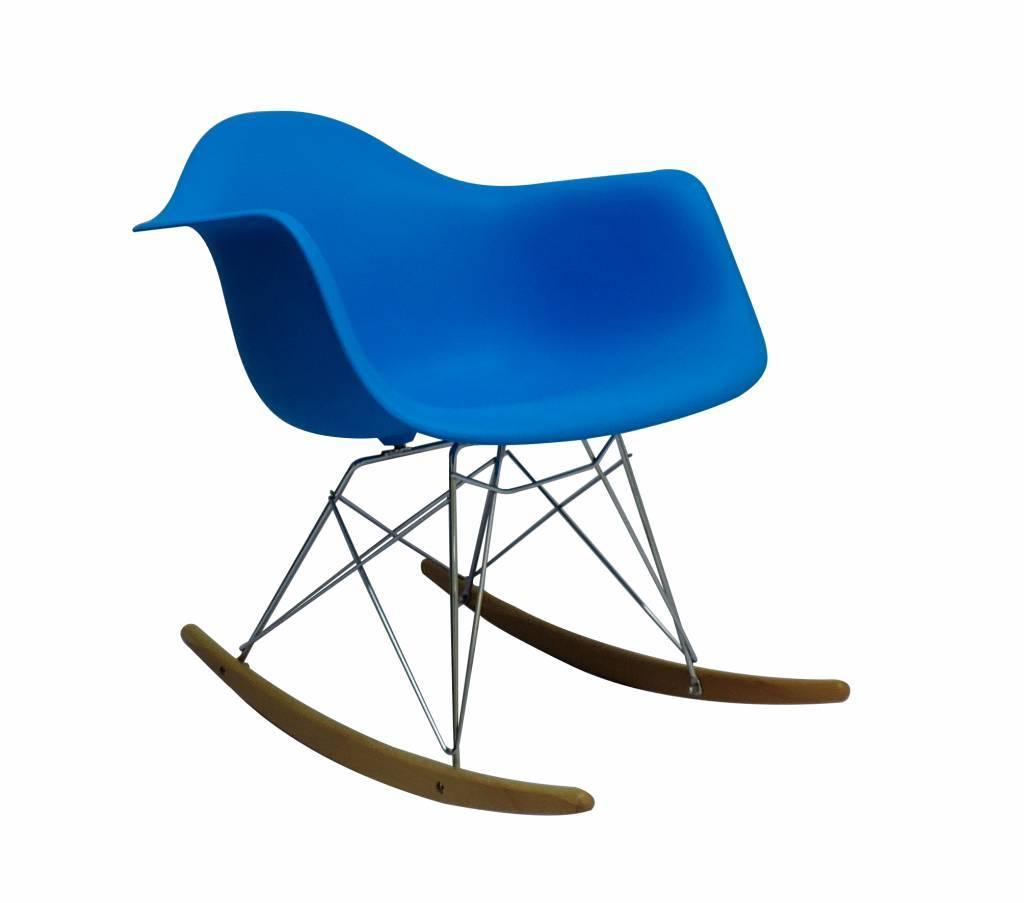 RAR Eames Design Rocking Chair Blue