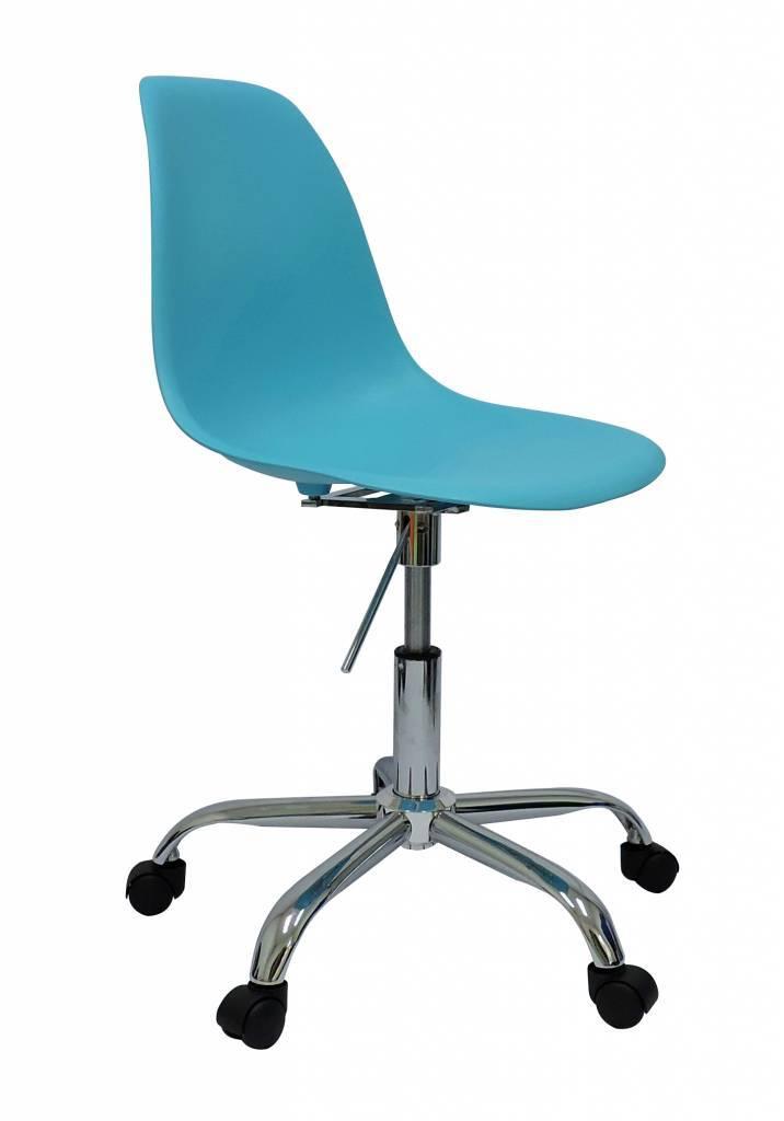 PSCC Eames Design Chair Blue