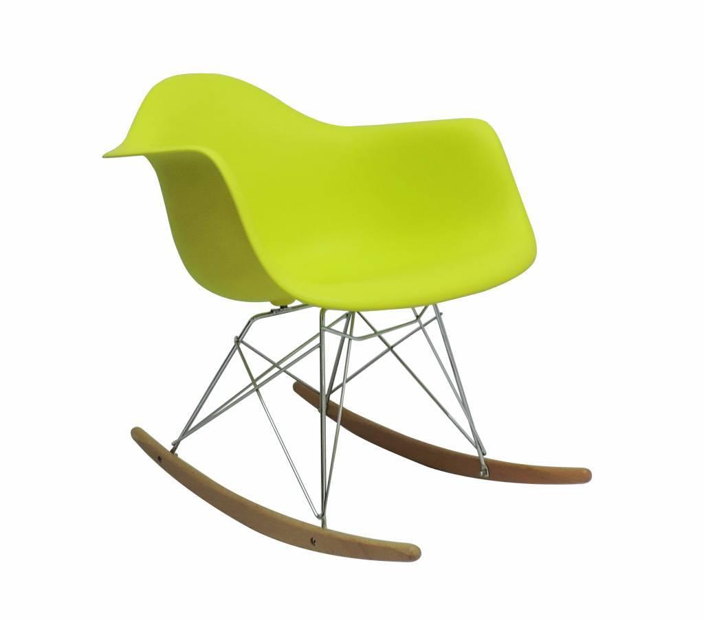 RAR Eames Design Rocking Chair Green