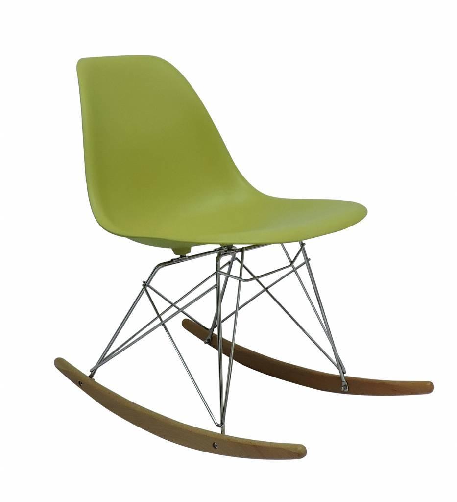 RSR Eames Design Rocking Chair Green
