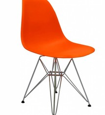 DSR Eames Design stoel Orange 3 colors