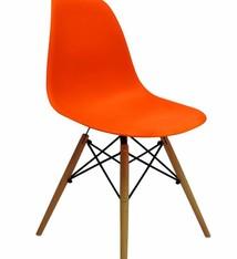 DSW Dining Chair Orange