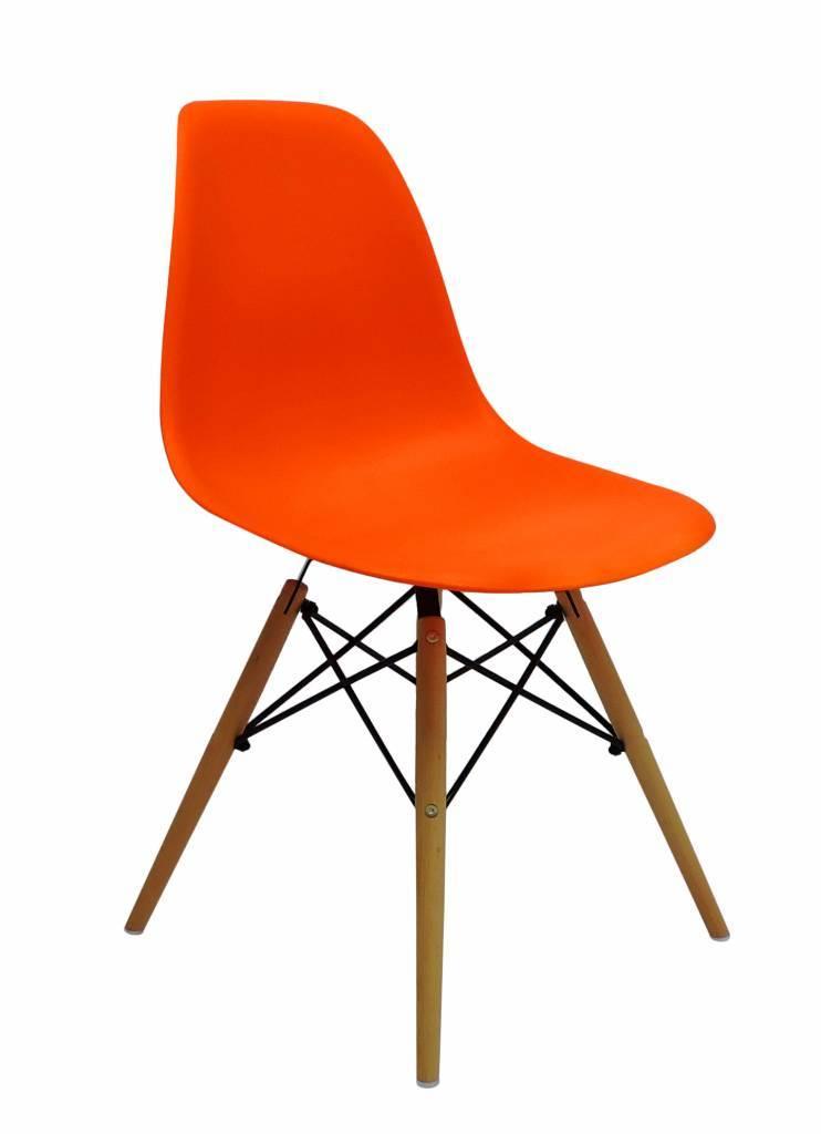 DSW Eames Design Eetkamerstoel Oranje