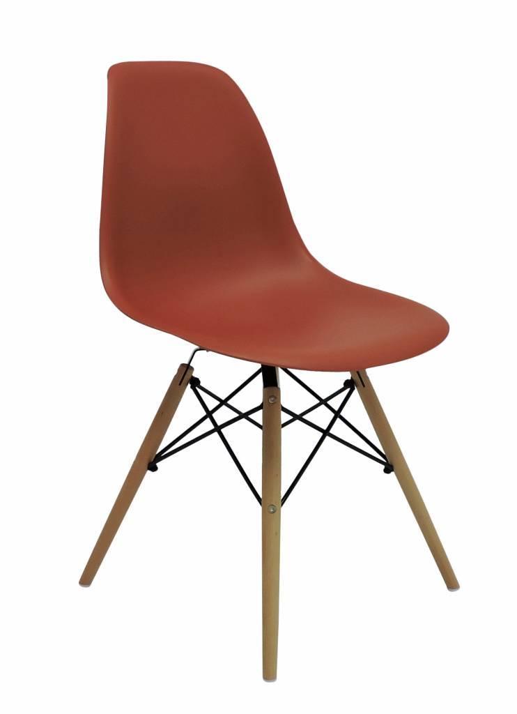 DSW Eames Design Dining Chair Orange