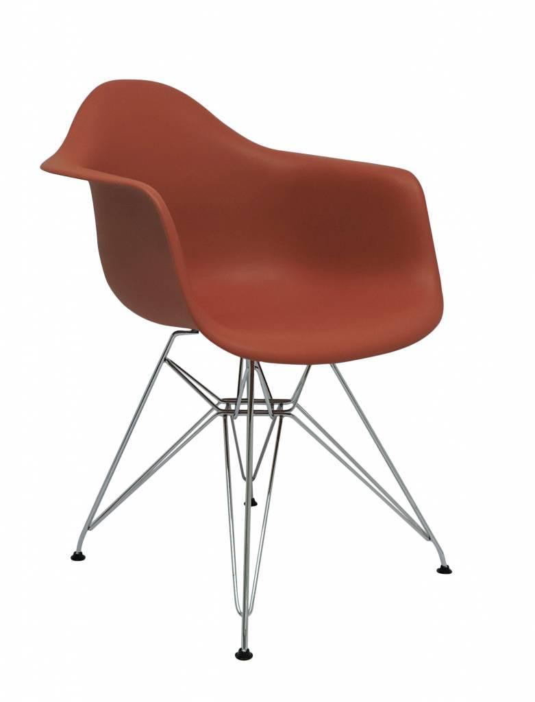DAR Eames Design Chair Orange