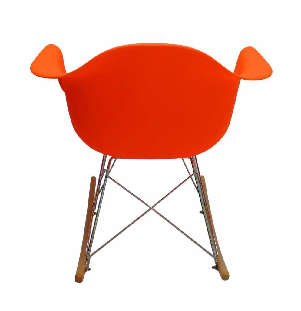 RAR Eames Design Schommelstoel Oranje