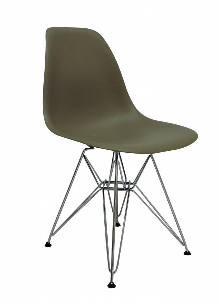 DSR Eames Design Stoel Bruin 6 kleuren