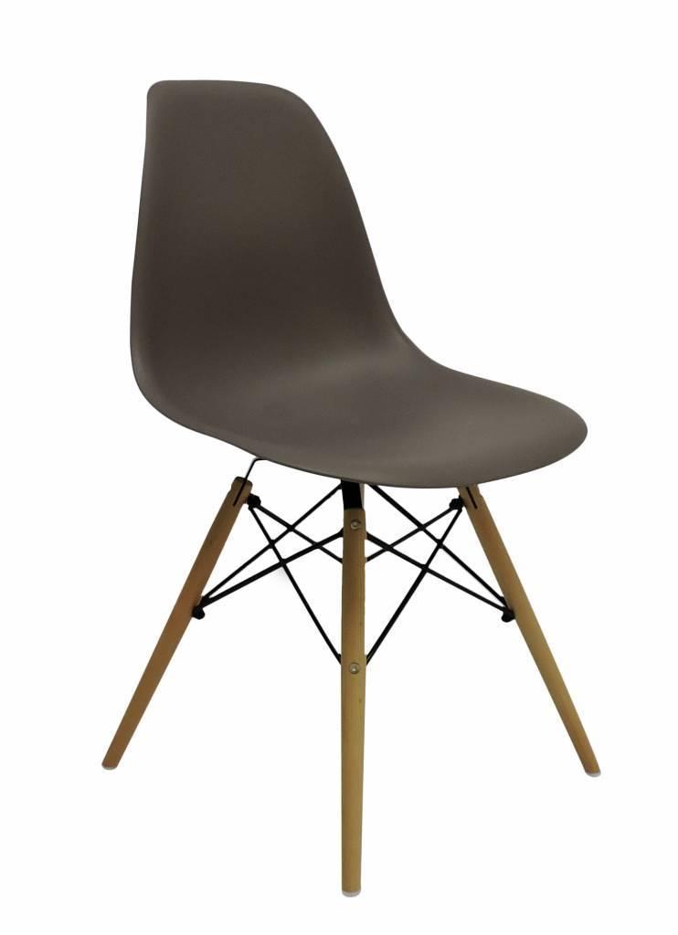 DSW Eames Design stoel Bruin 6 kleuren