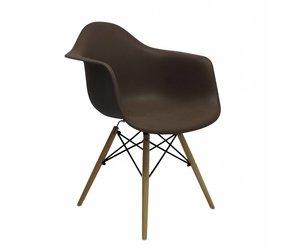 Design Stoelen Alkmaar.Daw Eames Design Chair Brown Eakus