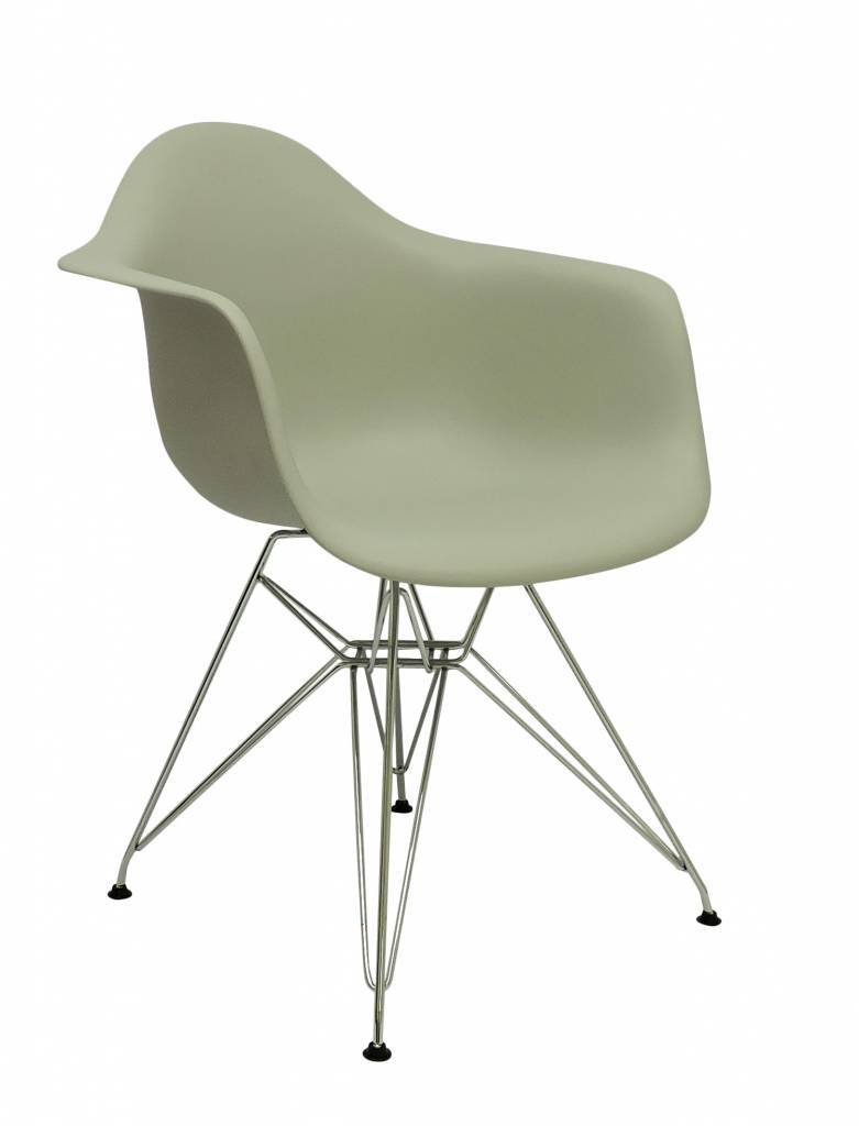 DAR Eames Design Stoel Bruin 6 kleuren