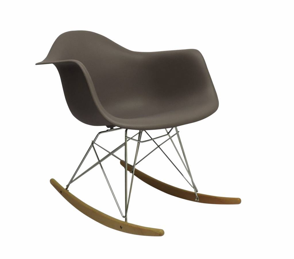 RAR Eames Design Rocking Chair Brown