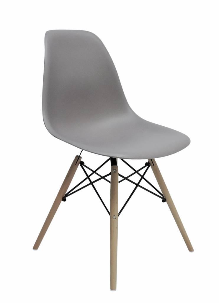 DSW Eames Design Eetkamerstoel Grijs