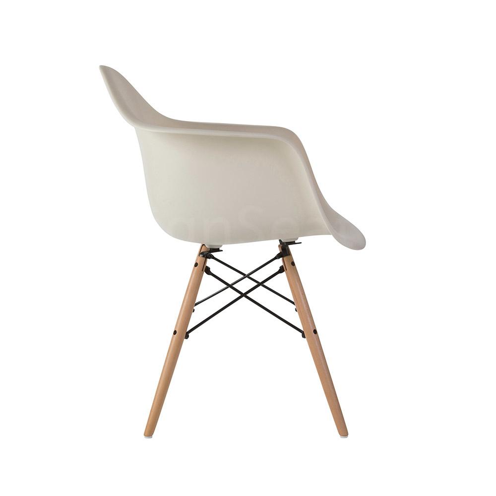 DAW Eames Design Stoel Wit 2 kleuren
