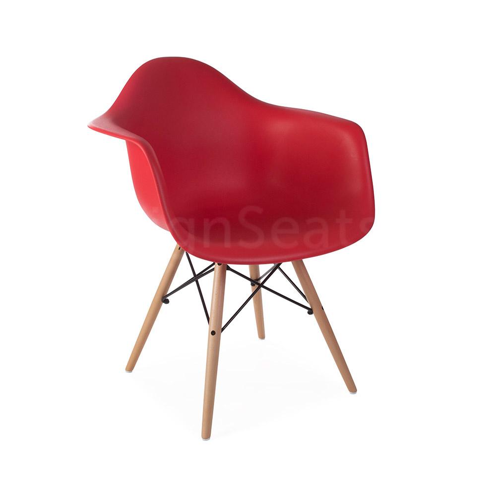 Design Fauteuil Rood.Daw Eames Design Stoel Rood Eakus