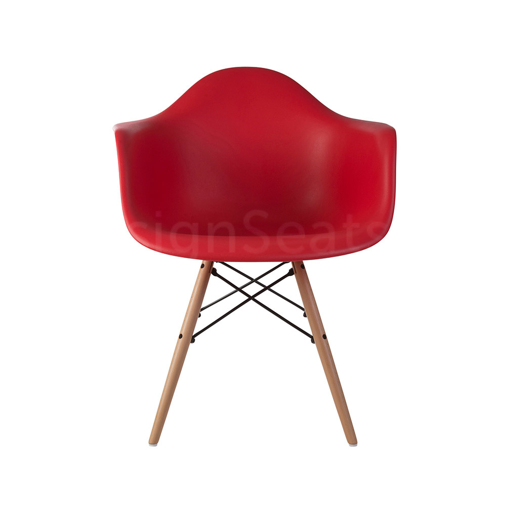 DAW Eames Design Chair Red