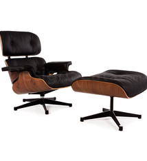 Eames Lounge Chair Walnut Black