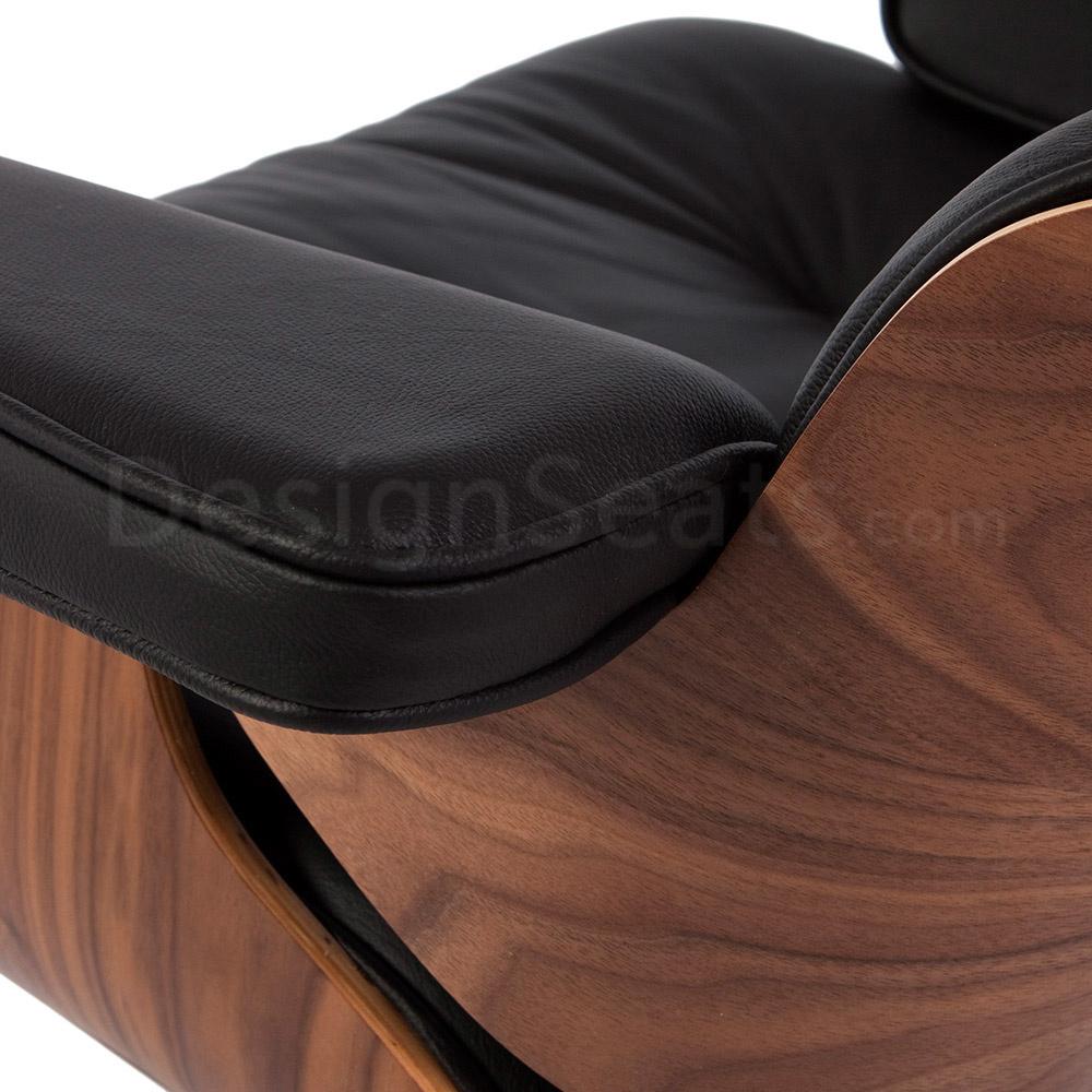 Eames Lounge Chair Walnut Black