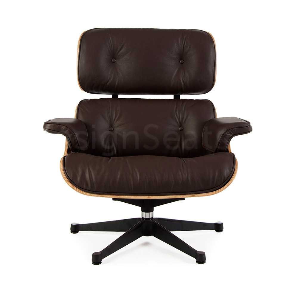 Eames Lounge Chair Walnut Brown