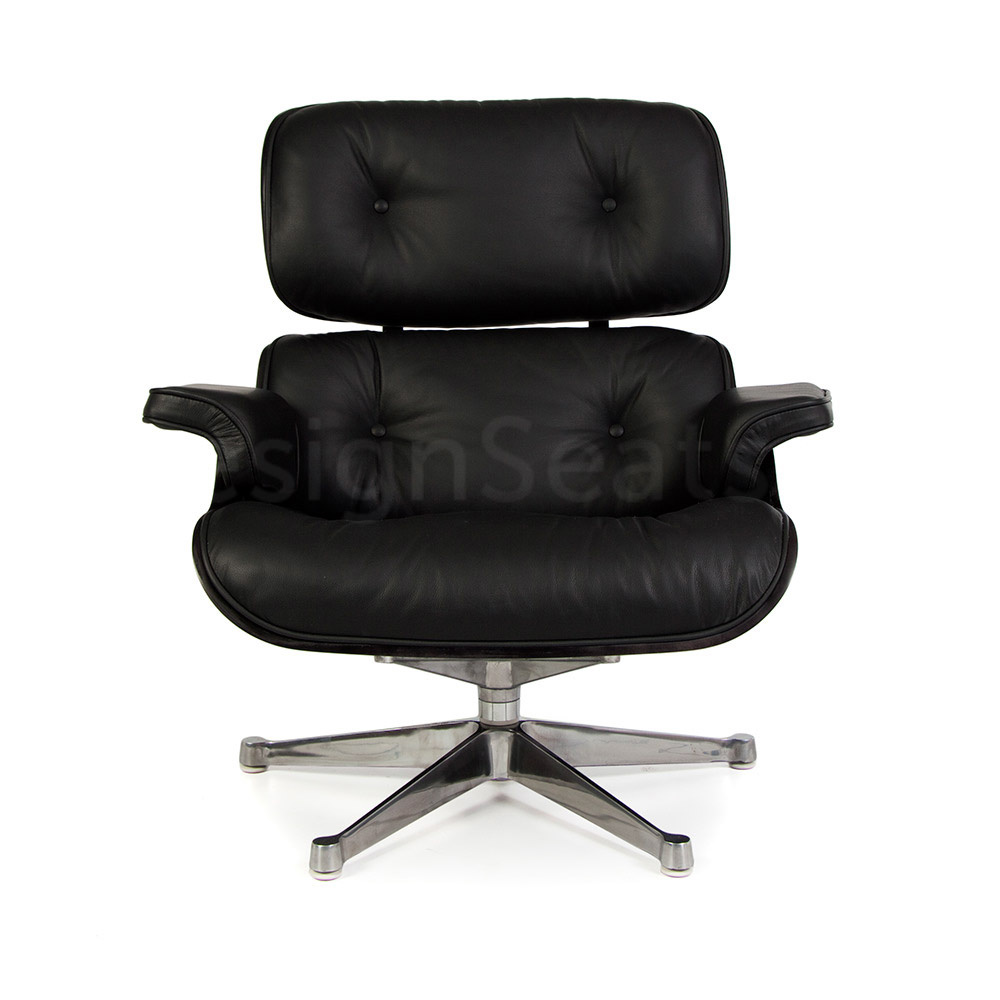 Eames Lounge Chair All Black