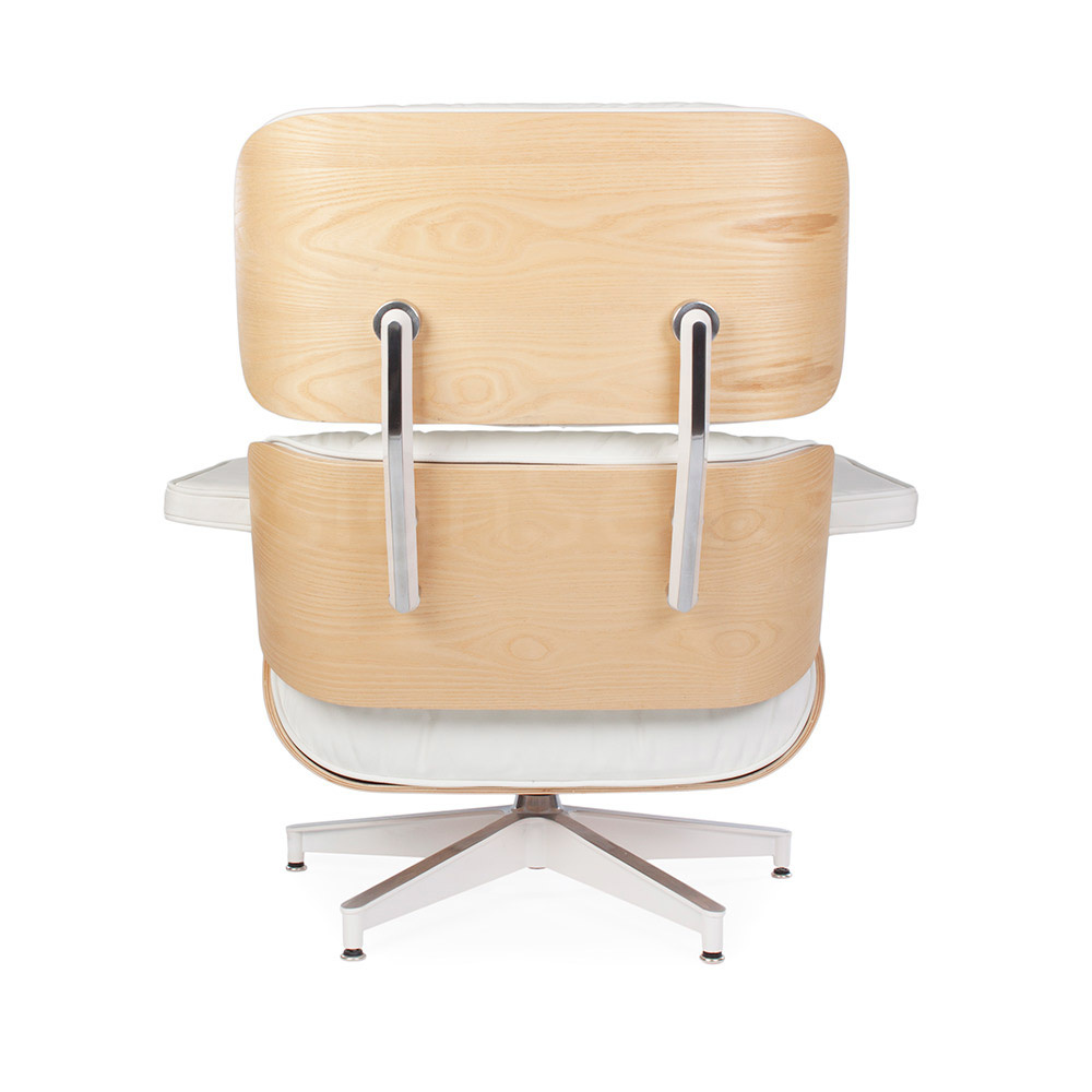 Eames Lounge Chair Special White