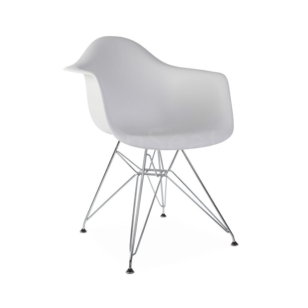 Witte Kunststof Design Stoelen.Dar Eames Design Stoel Wit Eakus