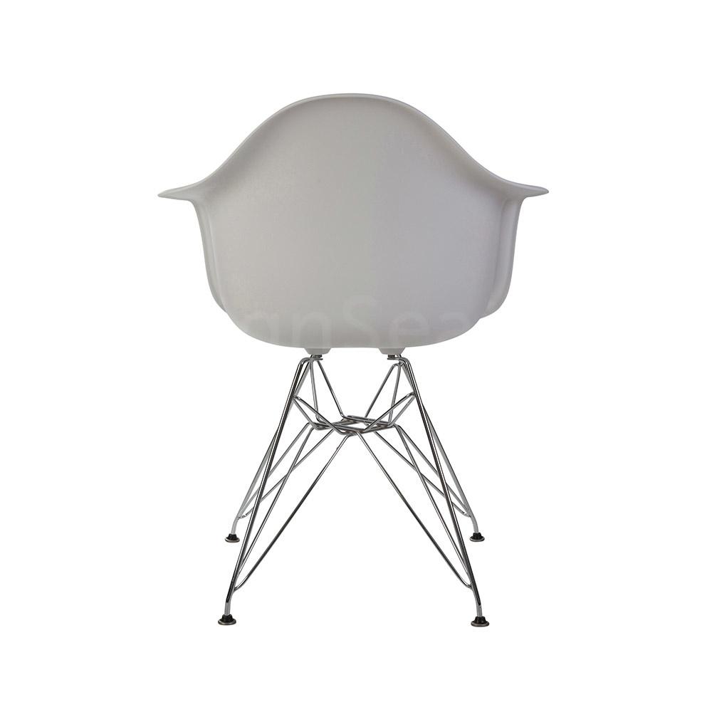 Witte Design Fauteuil.Dar Eames Design Stoel Wit