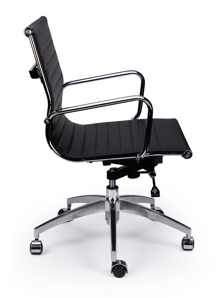 EA117 Budget Sky leather Office chair