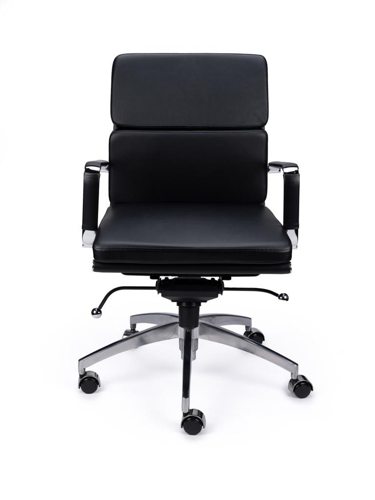 EA217 Comfort Leer Bureaustoel