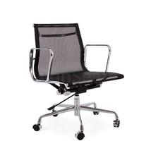EA117 Mesh Bureaustoel zwart/wit