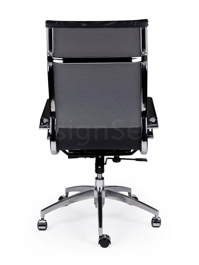 EA119 Mesh Bureaustoel zwart/wit