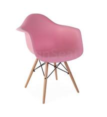DAW Eames Design Stoel Roze 4 kleuren