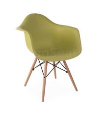 DAW Eames Design Stoel Groen 5 kleuren