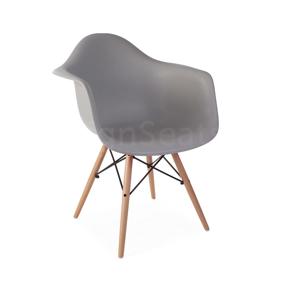 DAW Eames Design Stoel Grijs 3 kleuren