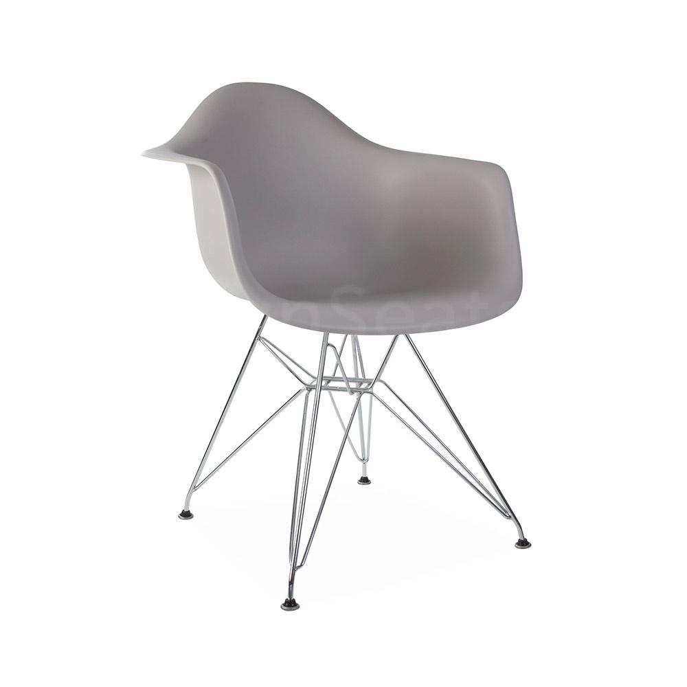 DAR Eames Design Stoel Grijs 3 kleuren